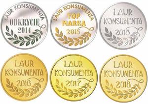 Kuvings co roku otrzymuje jako wyróżnienie klientów Laur Konsumenta