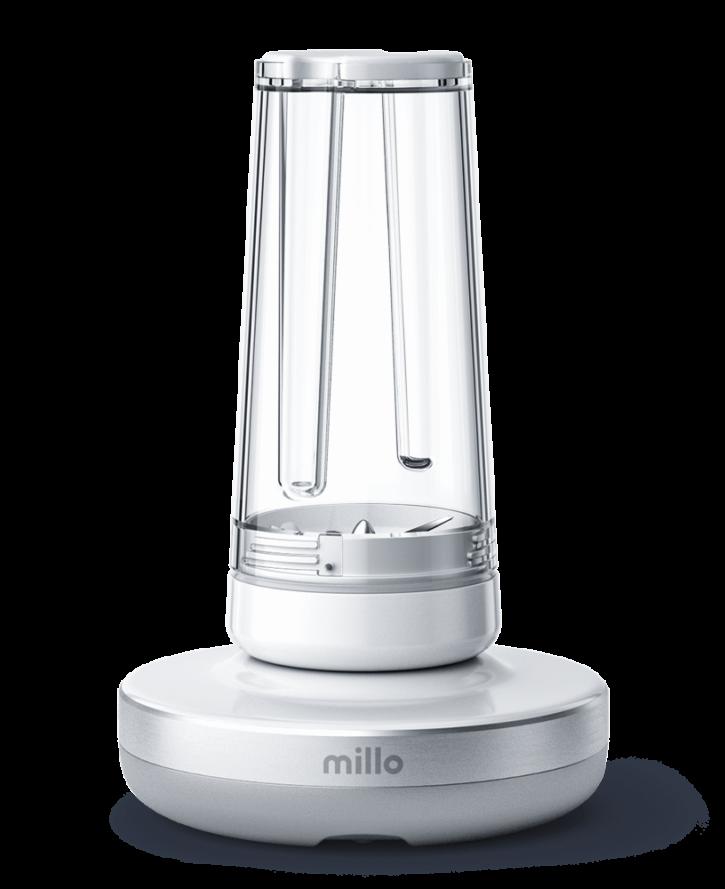 blender bezprzewodowy Millo z dotykowym panelem 360 stopni