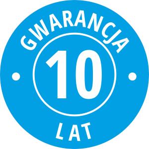 Jesteśmy pewni jakości naszych wyciskarek, dlatego dajemy na nie aż 10 lat gwarancji. Na wszystkie części!