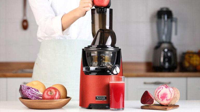 Kuvings EVO zastosował bardzo trwałe, wzmocnione materiały oraz zupełnie nowy wygląd, który zachwyci każdą kuchnię