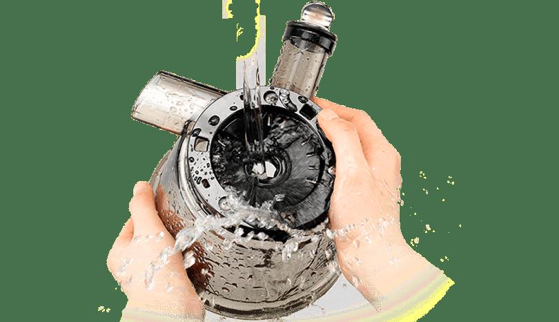 mycie wyciskarki jest szybkie i proste