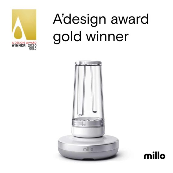 blender Millo nagrodzony nagrodą A'Design Award