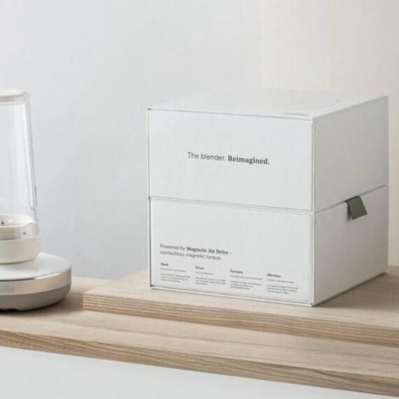 przenośny blender Millo zapakowany jest w ekologiczny karton